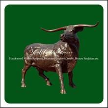 Casting Decorative Garden Large Bull Bronze Sculpture