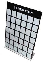 China YZLong black acrylic 42pcs Nail Art Design Display Board