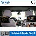 Atividade headrest dvd player touch screen 9 lcd de táxi monitor de video player