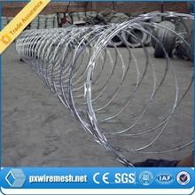Barbed wire/ galvanized razor barbed wire/ grass boundary galvanized barbed wire barbed wire