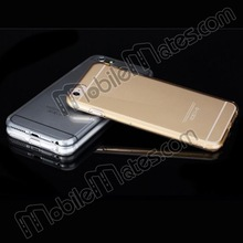 ROCK Ultra-thin Super Transparent TPU Case for iPhone 6 Plus 5.5 inch, ROCK Clear TPU Gel Cover for iPhone 6 for iPhone 6 plus