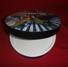 round shaped wooden box,round wood CD box,
