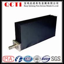 Plate Mesh Tube Wire Bar Titanium Anodes for Electroplating Ruthenium Iridium Platinum Tantalum Coated