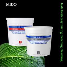 Mild formula dust free fragrant hair bleaching powder