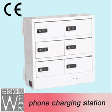 2015 sopower phone charging station 6 docks multi cell phone charger