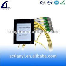 1*4 Fiber Optical PLC Splitter FC/APC With Box Type