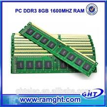 new brand chipest desktop ram memory 1600mhz ddr3 8gb