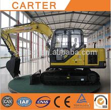 Caldo di vendita ct85-8a( 8.2t) idraulico cingolato escavatore terne