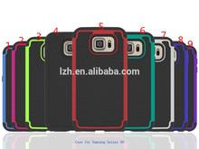 For Samsung Galaxy S6 G9200 Football Pattern Hybrid Phone Case