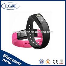 Bluetooth waterproof samsung bluetooth bracelet, waterproof magnetic bracelet, silicone wristband pedometer