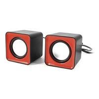 square design mini usb speaker for computer