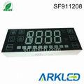 customised 4 dígitos pantalla digital led de microondas para el uso del horno