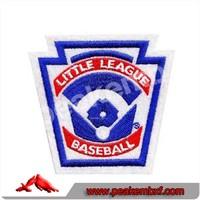 Little League Baseball Embroidery Badges for Garments