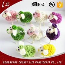 2015 new design cute sheep/goat christmas decoration/wholesale sheep decoration