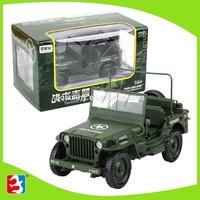 New kids metal truck toy army jeep mini jeep for sale