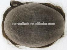 new design human hair men's toupee Cheap Natural Hair india hair men toupee