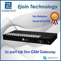 voip 32 ports gsm gateway goip 32 sim cards,voip gsm gateway