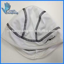 black&white comfortable polyester/spandex men's beanie sports hat