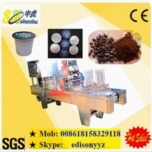 high efficiency k cup capsule coffee machine/coffee filling sealing machine