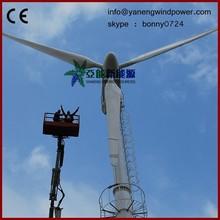 horizontal wind turbine, variable pitch control blade 50kw wind generator
