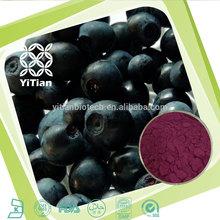 Natural Bilberry P.E. Anthocyanosides 5%,10%,15%,20%,25% CAS :84082-34-8