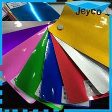 JEYCO VINYL 1.52*20m New Aurora vinyl, colorful PVC glitter vinyl fabric for car rapping