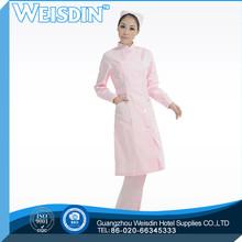 Uniforme médico bonito roupas roupa moda mulheres poliéster enfermeira chapéus