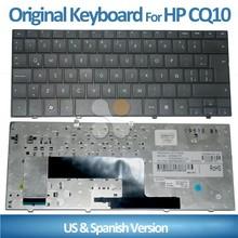 New For HP Mini 110-1000 110-1101/Compaq Cq10-100 cq10-110 cq10-120 cq10-130 110c-1000 110c-1100 Spanish Layout laptop keyboard