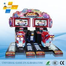 2015 Cool POP MOTOR Car Street Arcade Machine/Coin Operated Motorcycle Racing/Moto GP Simulator Arcade Game Machine