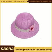 hiway china supplier paper braid Children Winter Hats