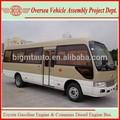 6720 moteur diesel et essence petit bus de la ville nouvelle minibus pour la vente