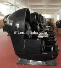 Full black en forme d'oeuf chaise fauteuil de pédicure utilisé ( AK-2026C-G ) made in china