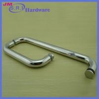 Europe style dia 25mm stainless steel pull door handles