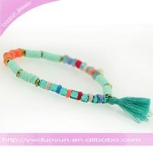 Indian Square Beads Bracelet Bangle Wholesale Jewelry