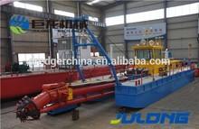 Julong Hydraulic Cutter Suction Desilting Equipment/Sand Dredger for Export