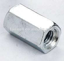 Stainless steel & steel coupling nut