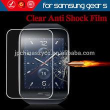 For galaxy gear s Screen protector Anti shock,Anti scratch, crystal clear screen protector for Samsung watch