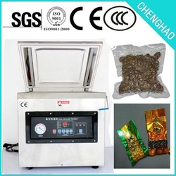 Single Chrmber food vacum pacging machine with CE approved, china supplier