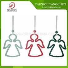 Manufacturer popular Wooden craft wooden hanging Wooden angel hanging