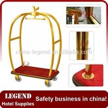 Apple shape deluxe luggage cart,Deluxe Bellman Cart