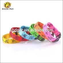6 colors flashing lucky animals Pet Dog LED illuminated dog collar