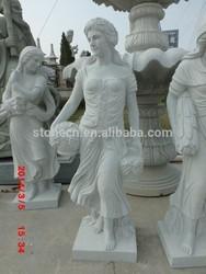 Woman Art Marble Nude Sculptures