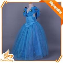nueva llegada de cenicienta vestidos para niñas venta caliente traje de cenicienta