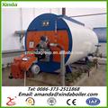 Nouvelle technologie plus Type Double tambour automatique d'alimentation de carburant chaudière à vapeur pour petite centrale