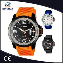 Man Sports Watches Water Resistance CURREN Mens Watches Top Brand Luxury Relogio Masculino Quartz Watch Silicone Band