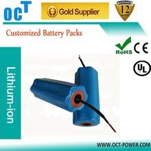 14.8V 8Ah samsung 18650 battery for diving lighting