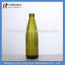 Reserva de largo plazo de alibaba de china economías bengbu dos modelos de color de pulverización botella de vidrio para agua de soda de china fuente de alimentación