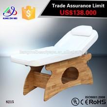 salon furniture wooden facial bed /foot massage bed 8215