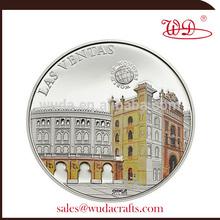 las ventas colored silver coin
