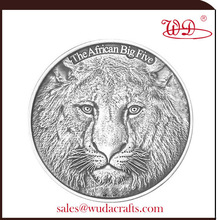 2014 african big five animal series silver coin